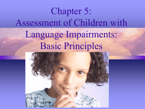 Introduction to Diagnosis and Assessment