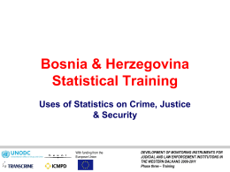 Use of Statistics for Policy development