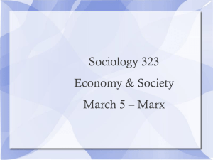 March 5 – Marx - Erik Chevrier