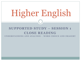 Higher_English_Supported_Study_Session_1_Close_Reading