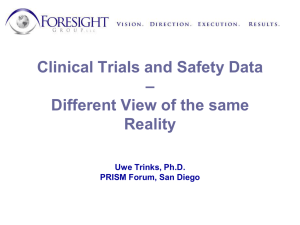 Clinical Trials and Safety Data