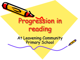 Fun with Phonics powerpoint - Leavening Community Primary School