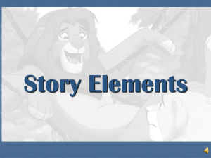Story Elements The Lion King Notes 9-17-12