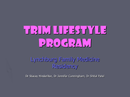 WHAT IS THE TRIM LIFESTYLE PROGRAM