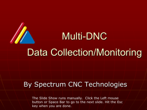 Multi-DNC Monitoring - Richmond Machine and Engineering