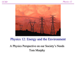 PowerPoint Lecture - UCSD Department of Physics
