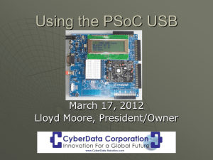 Using PSoC Creator - Seattle Robotics Society