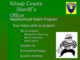 Kitsap County Sheriff`s Office