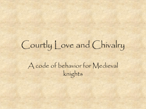 Courtly Love PPT