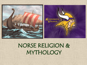 Norse Religion and Mythology