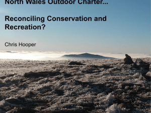 North Wales Outdoor Charter - Snowdonia