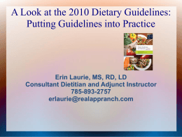 Dietary Guidelines P..
