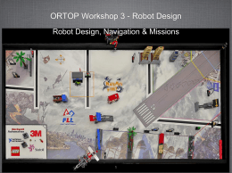 PowerPoint Slides - Oregon Robotics Tournament and Outreach