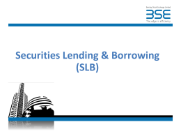BSE Equity Derivatives – Moving to Mid