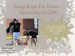 Jump Rope For Heart – Slime Day at GJM