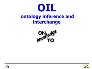 OIL: Ontology Inference and Interchange - On-To