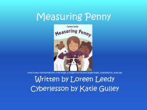 Measuring Penny Cyberlesson