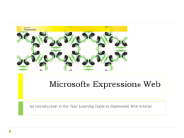 4_Expression Web Overview - home.uni