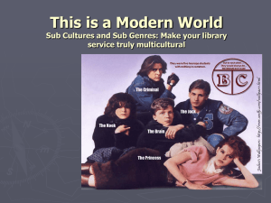 Subculture - Westchester Library Association
