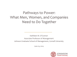 Pathways to Power - Filene Research Institute