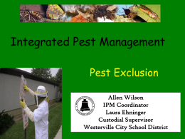 Pest Exclusion