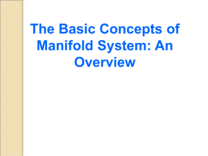 3.1 Basic Concept of MANIFOLD System