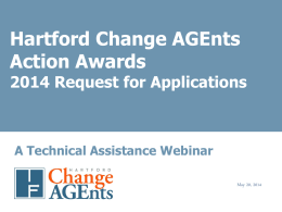 Hartford Change AGEnts