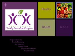 Health Belief Model Powerpoint