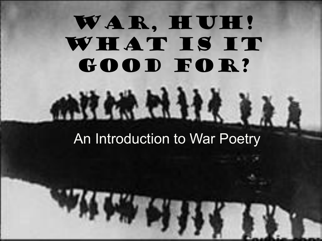 The Creative Writing, The Citizen Soldier