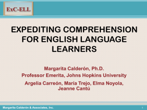 ExC-ELL - English as a Second Language