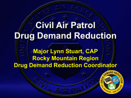 Implementing A DDR Program - New Hampshire Wing, Civil Air Patrol
