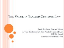Présentation PowerPoint - European Association of Tax Law