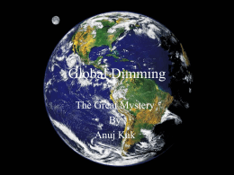 Global Dimming - misssmith2009