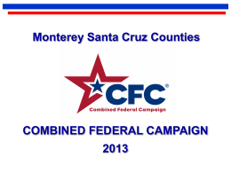 San Diego County Combined Federal Campaign