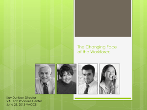 Kay Dunkley – The Changing Face of our Workforce