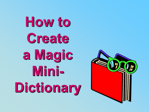 How to Create a Mini
