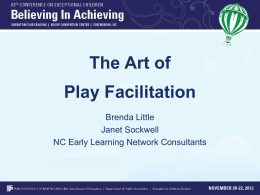 The Art of Play Facilitation website version