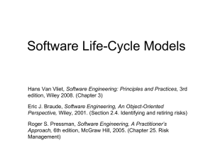 05a. Life Cycle Model