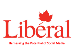 Introduction - Liberal Party of Canada
