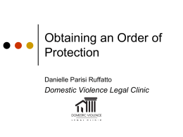 DVLC-Order of Protection PowerPoint