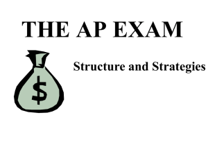 AP Exam Overview0