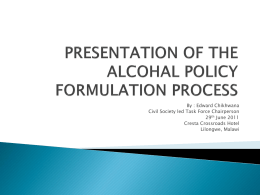 Policy Formulation Process Powerpoint