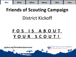 FOS District Kickoff Slideshow