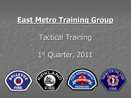 Bellevue Fire Department Tactical Training September 2009