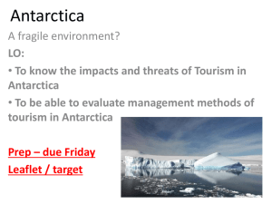 Geography Extreme Tourism in Antarctica - Welwyn & Hatfield 14