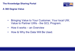 APAConf-GCL Info Sharing - the Portal to Success 1