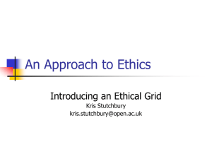 An Approach to Ethics_UCET