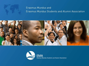 EMA - Erasmus Mundus Students and Alumni Association