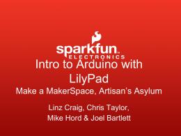 LilyPad Dev at Artisan`s Asylum