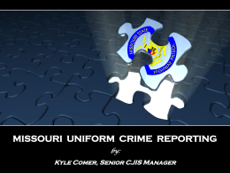 Missouri`s Training and Auditing